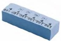 Lemia papir za označavanje sa brojevima